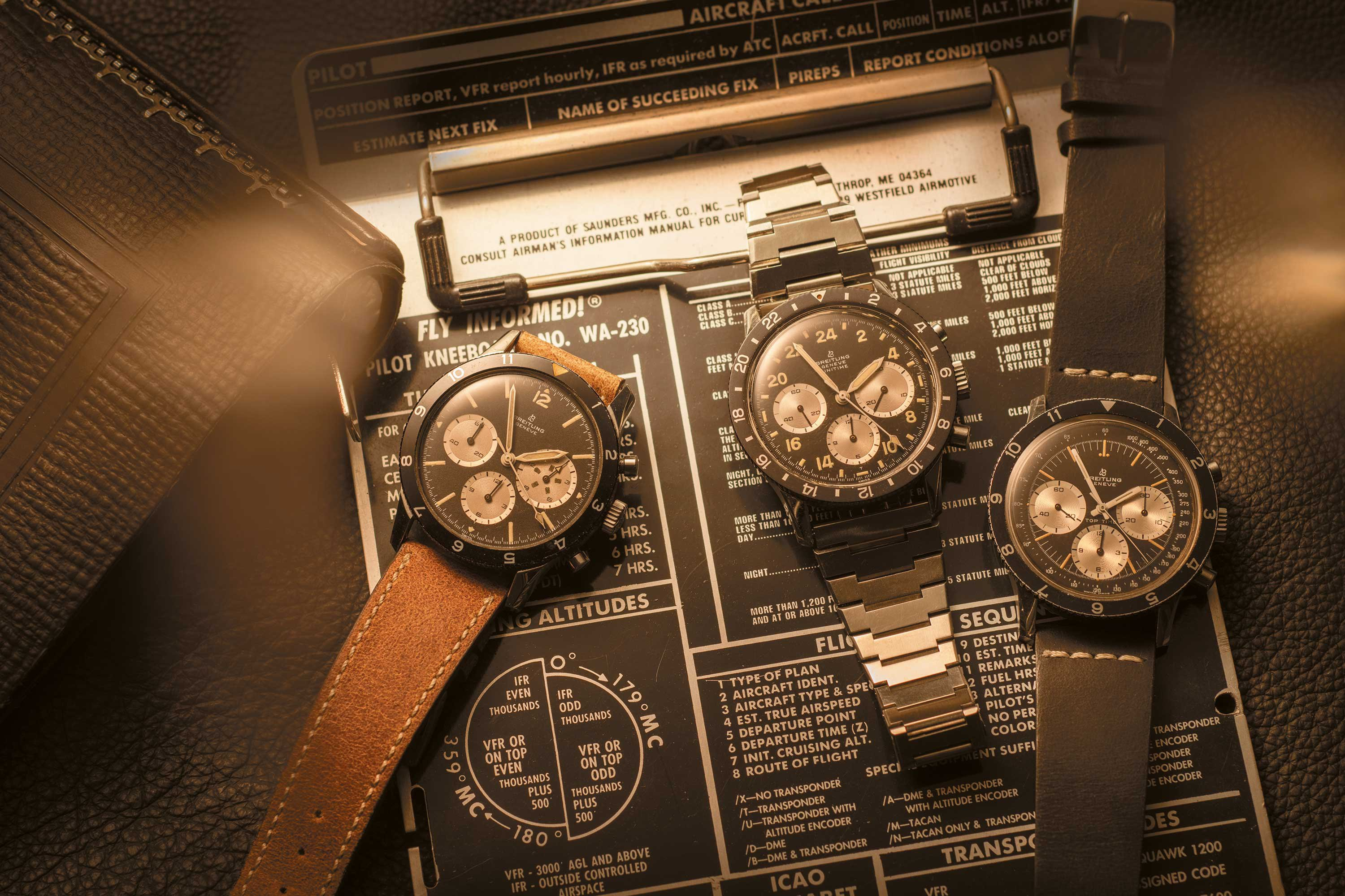 INTRODUCING: THE BREITLING COLLECTION